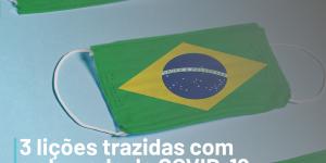 Mascara bandeira do brasil