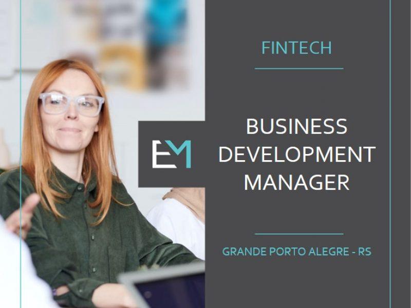 business development manager - fintech - grande porto alegre - evermonte