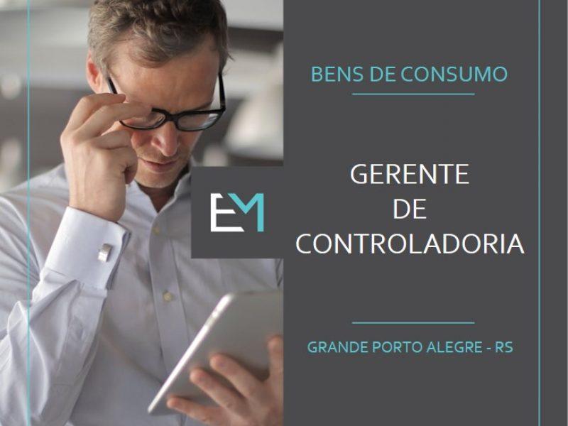 gerente de controladoria - bens de consumo - grande porto alegre - evermonte