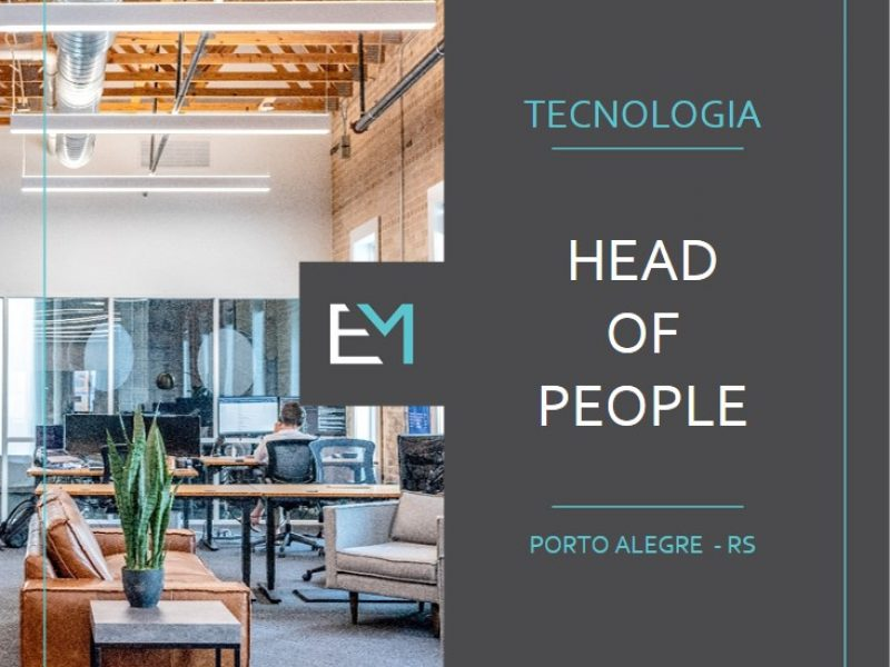 head of people - tecnologia - porto alegre - evermonte